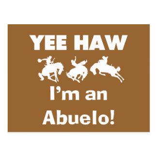 Haw de Yee soy camisetas y regalos de un Abuelo Postales