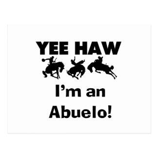Haw de Yee soy camisetas y regalos de un Abuelo Postal