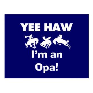 Haw de Yee soy camisetas y regalos de un Opa Postal