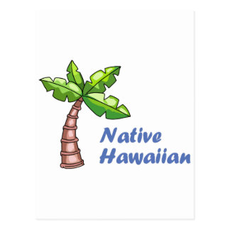 Hawaian nativo postal