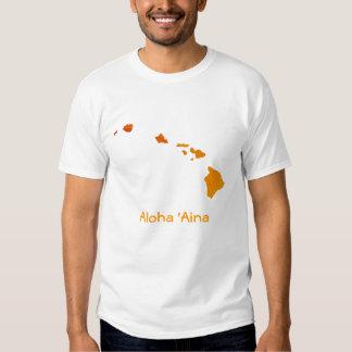 Hawaiana 'Aina Camisetas