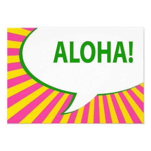 ¡hawaiana! : burbuja cómica del discurso anuncio