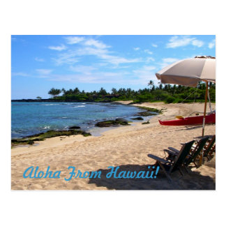 """¡""""Hawaiana de Hawaii! """" Postal"""