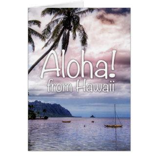 ¡Hawaiana de Hawaii! Tarjeta De Felicitación