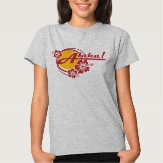 Hawaiana de la camiseta de Hawaii