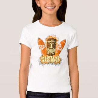 Hawaiana de Tiki Camisetas