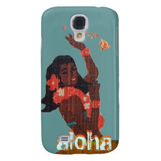 Hawaiana del bailarín de Hula por el mapa de la Samsung Galaxy S4 Cover