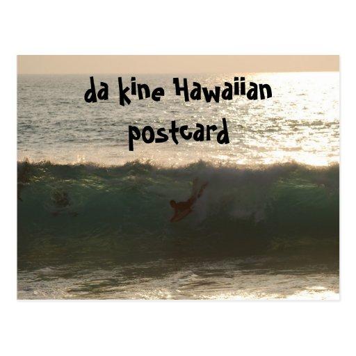 hawaiana del kine de DA de Hawaii Tarjetas Postales
