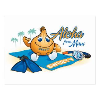 hawaiana del sweety postal