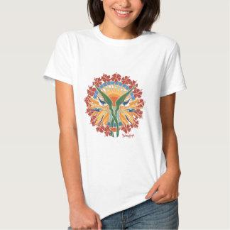 Hawaiana, ella dice… camisetas