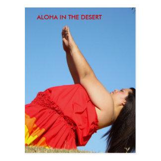 Hawaiana en el ~ de Kawena del ~ del desierto Postal