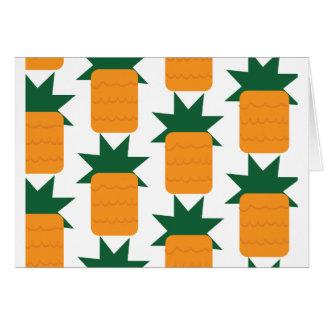 Hawaiana, tarjeta de la piña
