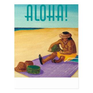 ¡Hawaiana! Postal