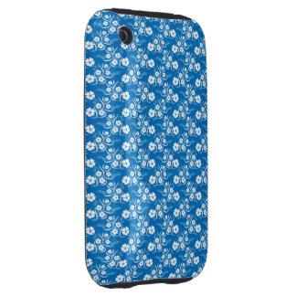Hawaii azul iPhone 3 tough carcasa