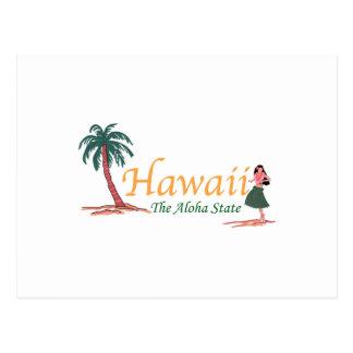 Hawaii el estado de la hawaiana postal