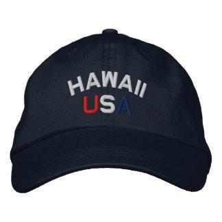 Hawaii los E.E.U.U. bordó el gorra de los azules m Gorra De Béisbol Bordada