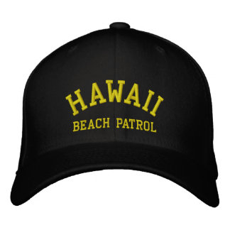 HAWAII, PATRULLA DE LA PLAYA GORROS BORDADOS