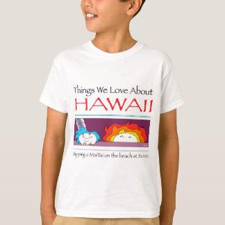 Hawaii por Harrop-T-c Camiseta