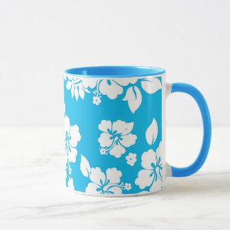 Hawaiian azul taza