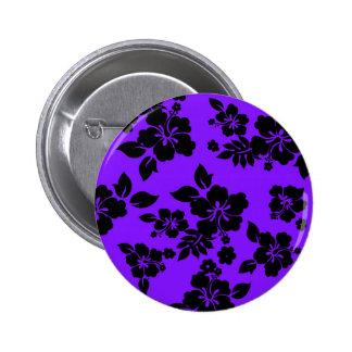 Hawaiian oscuro violeta chapa redonda de 5 cm