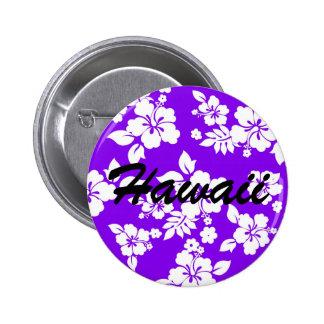 Hawaiian violeta chapa redonda de 5 cm