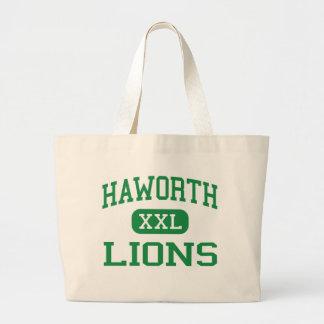 Haworth - leones - joven - Haworth Oklahoma Bolsa