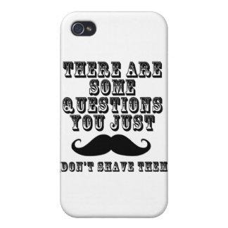 Hay algunas preguntas usted apenas bigote iPhone 4 protector