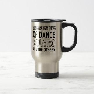 Hay dos tipos de bolero de la danza y de los otros tazas