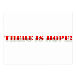 ¡Hay esperanza! Postal