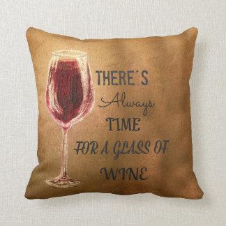 Hay siempre hora para la almohada del vino