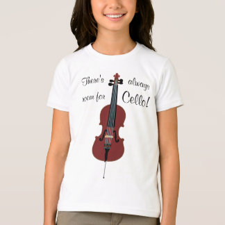 ¡Hay siempre sitio para el violoncelo! Camiseta