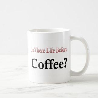 Hay vida antes de taza de café