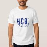 HCO3- bicarbonato Camiseta