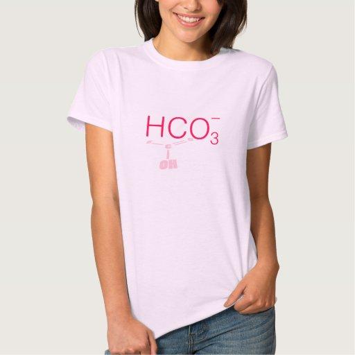 HCO3- estructura de Lewis del bicarbonato Camiseta