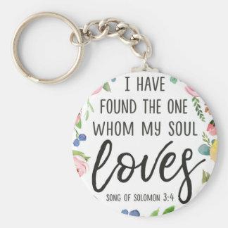 He encontrado el quién mi alma ama llavero