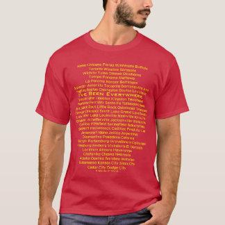 He estado por todas partes - una camisa de MisterP