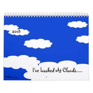He mirado el calendario de las nubes 2018
