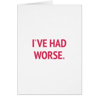 He tenido tarjeta del día de San Valentín