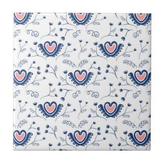 """""""Heart Pattern"""" Tile"""