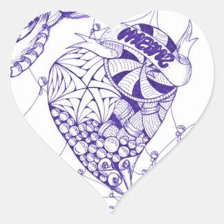 Heart Pegatina En Forma De Corazón