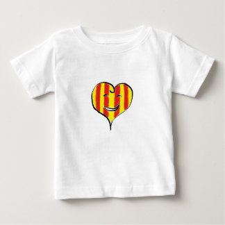 Hearty CATALÀ Camiseta De Bebé