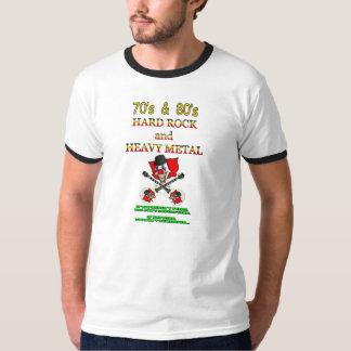 heavy de los años 70 y de los años 80/camiseta de camiseta