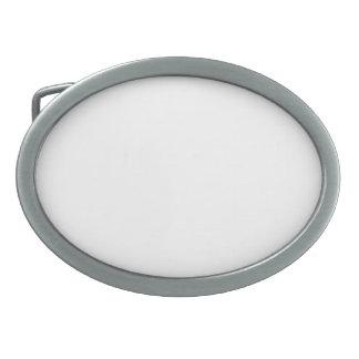 Hebilla De Cinturón Oval Caja De Regalo Oval Personalizable