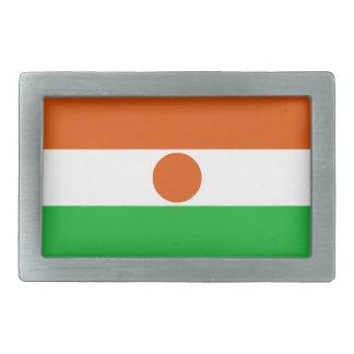 Hebilla De Cinturón Rectangular Bandera de Niger