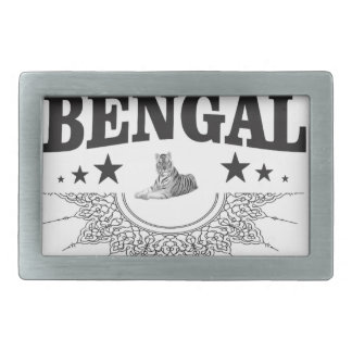 Hebilla De Cinturón Rectangular Bengala que se sienta
