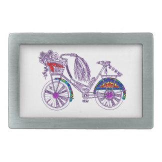 Hebilla De Cinturón Rectangular Bicicleta