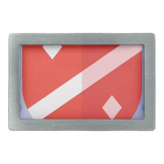 Hebilla De Cinturón Rectangular Escudo de la defensa