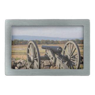 Hebilla De Cinturón Rectangular Gettysburg: Una vista de la carga de Pickett