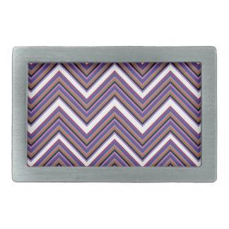 Hebilla De Cinturón Rectangular Majestad púrpura