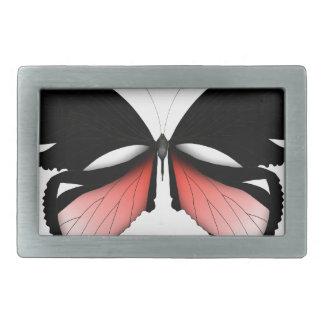Hebilla De Cinturón Rectangular mariposa del rojo del higo 5 por los fernandes